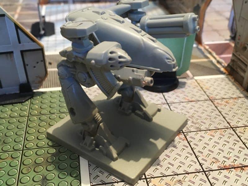Alien Chaos Dreadnought