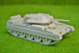1/48 scale WW2 CRUSADER Mk 2 28mm Blitzkrieg miniatures