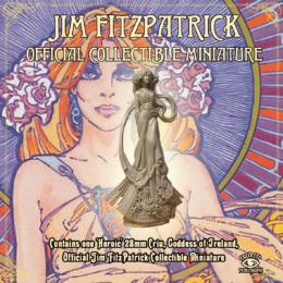 Ériu, Goddess of Ireland – Jim FitzPatrick Official Collectible Miniature Lucid Eye JIMF2