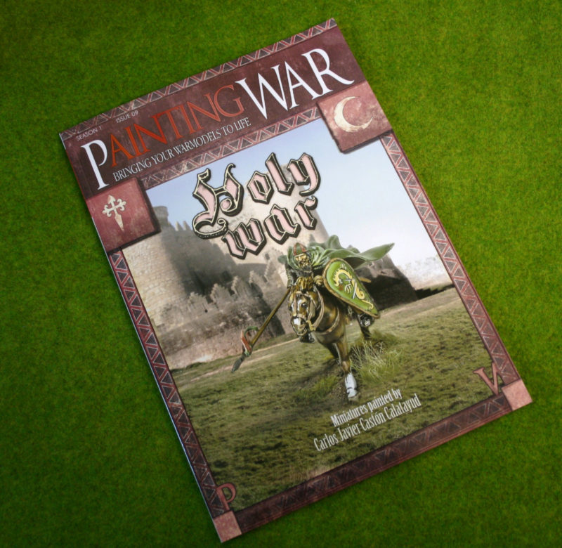 The latest 'Painting War' Magazine