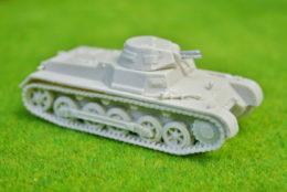 1/48 scale – 28mm WW2 GERMAN PANZER I resin tank Blitzkrieg miniatures