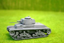 1/48 scale – 28mm WW2 GERMAN PANZER 35(t) resin tank Blitzkrieg miniatures