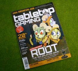 TABLETOP GAMING MAGAZINE Issue 29 APRIL 2019