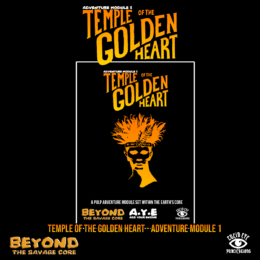 TEMPLE OF THE GOLDEN HEART Rules Supplement for the Savage Core Lucid Eye Publications