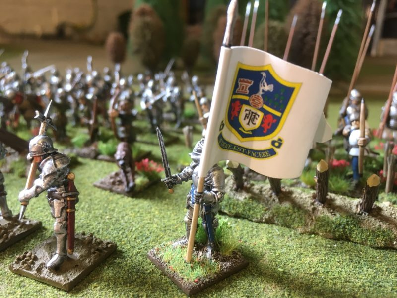 Harry Hotspur Leads his retinue into battle!
