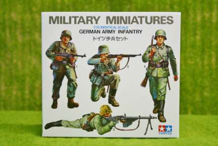 Tamiya WWII  GERMAN INFANTRY 1/35 Scale Kit 35002