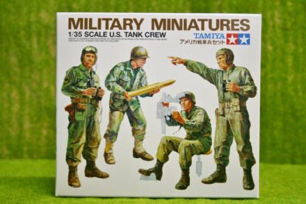 Tamiya WWII U.S.TANK CREW 1/35 Scale Kit 35004