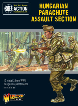 Hungarian Parachute Assault Section Bolt Action Warlord Games 28mm