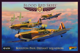 Blood Red Skies Boulton Paul Defiant SQUADRON Warlord Games