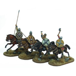 Breton Cavalrymen Command Footsore Miniatures SAGA NOR206