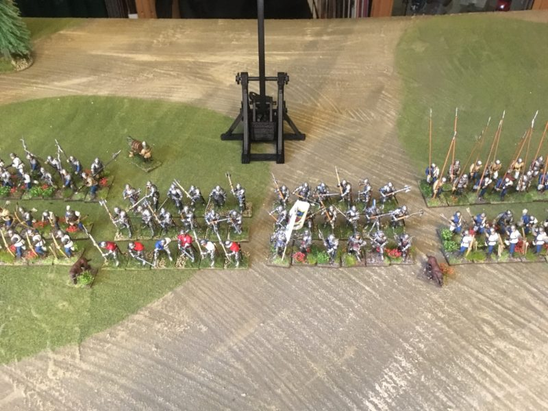 Mustering my WOTR Army