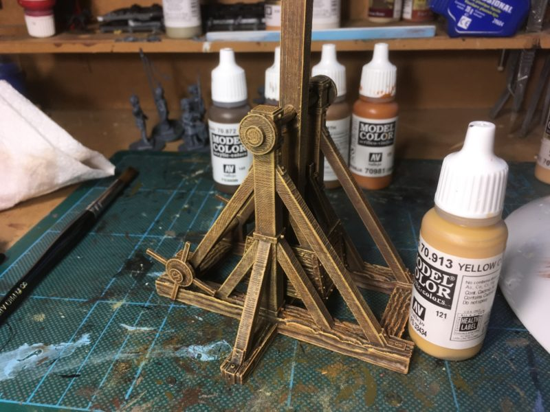 Trebuchet Stage 5 Yellow Ochre