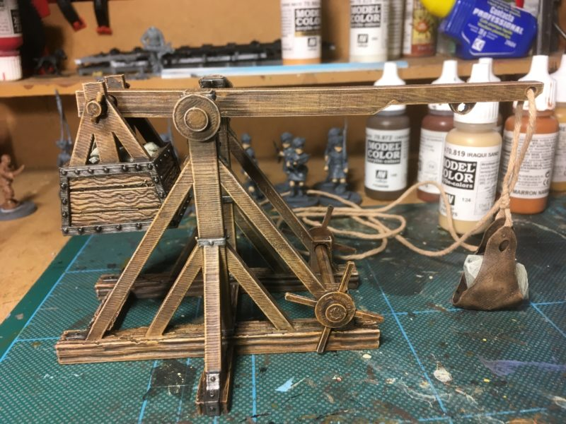 Trebuchet nearly completed