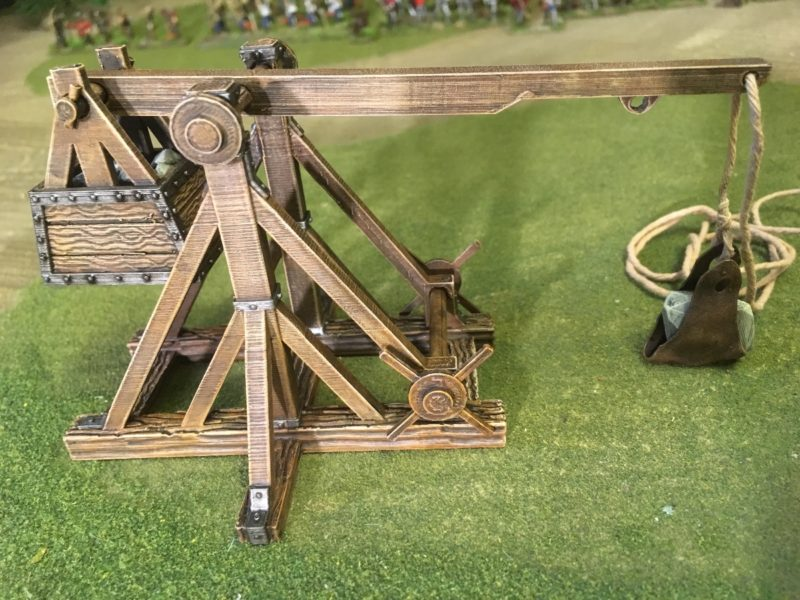 Trebuchet - Nearly completed