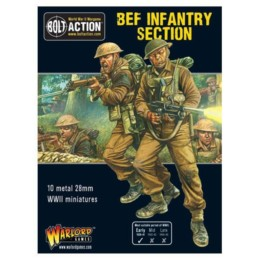 BEF Section Bolt Action Warlord Games 28mm