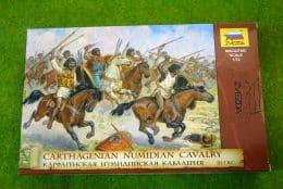 CARTHAGENIAN NUMIDIAN CAVALRY III-I BC 1:72 Scale Zvezda 8031