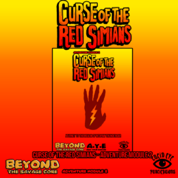 THE CURSE OF THE RED SIMIANS Rules Supplement for the Savage Core Lucid Eye Publications