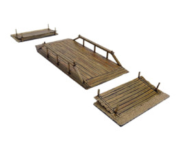 Old West / Cable Ferry (28mm) scale D074 Sarissa Precision