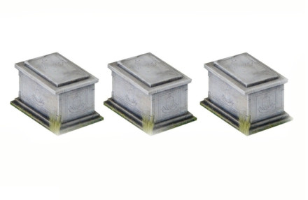 Sarcophagus Set of 3 G102 Laser Cut MDF 28mm