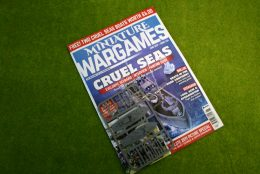MINIATURE WARGAMES + FREE US PT BOAT SPRUE ISSUE 434 May 2019 MAGAZINE