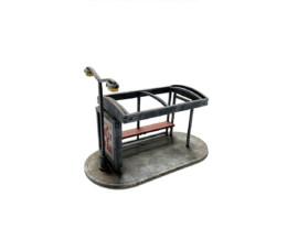 Bus Shelter Set (28mm) Sarissa Precision Q014