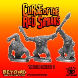 Lucid Eye RED SIMIANS pack 1 Beyond the Savage Core 28mm REDSIM1