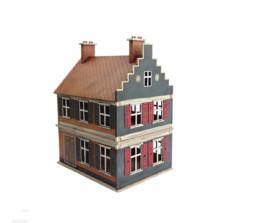 Dutch Belgian 2 STOREY TOWNHOUSE 2 28mm  MDF Building F012 Sarissa Precision