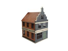 Dutch / Belgian Two Storey Shop 2 28mm MDF Building F022 Sarissa Precision