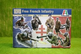 Italeri FREE FRENCH INFANTRY WWII 1/72 Kit 6189