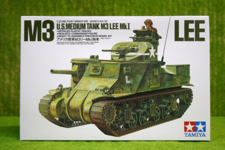 Tamiya M3 LEE Mk I US Medium Tank 1/35 Scale Kit 35039