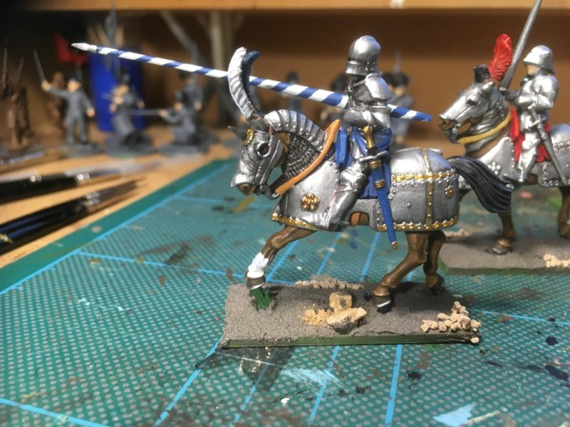 Mounted Knight completed - basing started