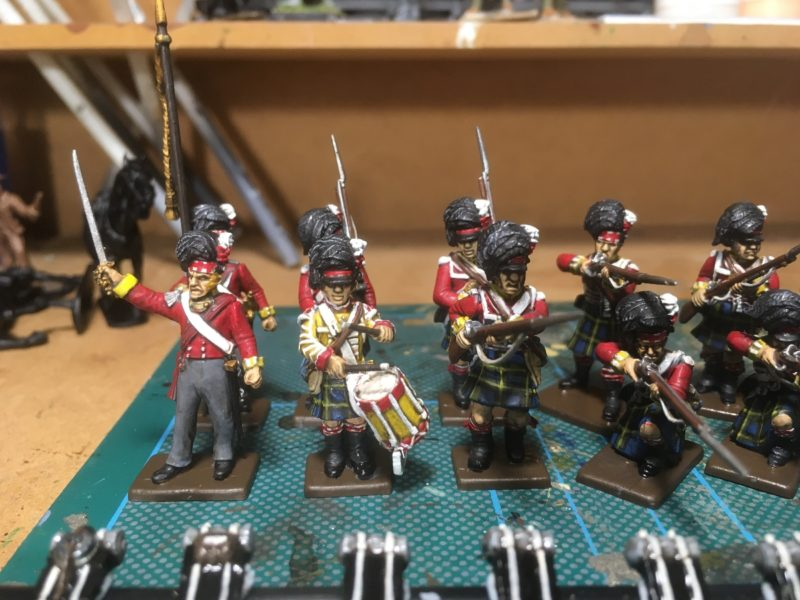 Gordon Highlanders - These are just about ready for basing