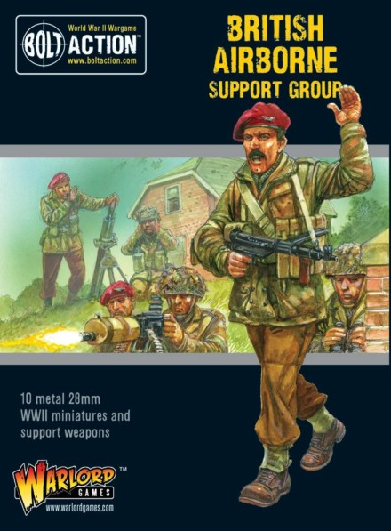 BRITISH AIRBORNE SUPPORT GROUP Bolt Action Warlord Games 28mm