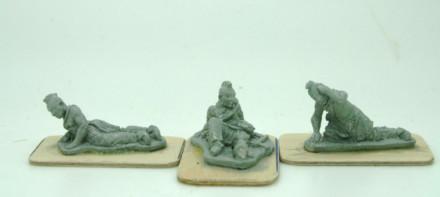 Trent Miniatures SHAWNEE CASUALTIES  NA05 28mm