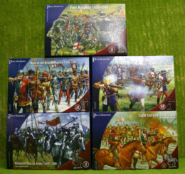 Perry Miniatures  WAR OF THE ROSES ARMY SET OF 5 plastic boxed