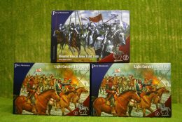 Perry Miniatures  WAR OF THE ROSES CAVALRY SET OF 3 plastic boxed sets 28mm.