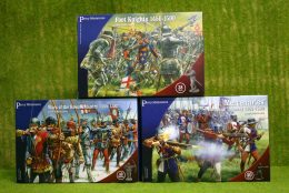 Perry Miniatures WAR OF THE ROSES INFANTRY SET OF 3 plastic boxed sets 28mm.