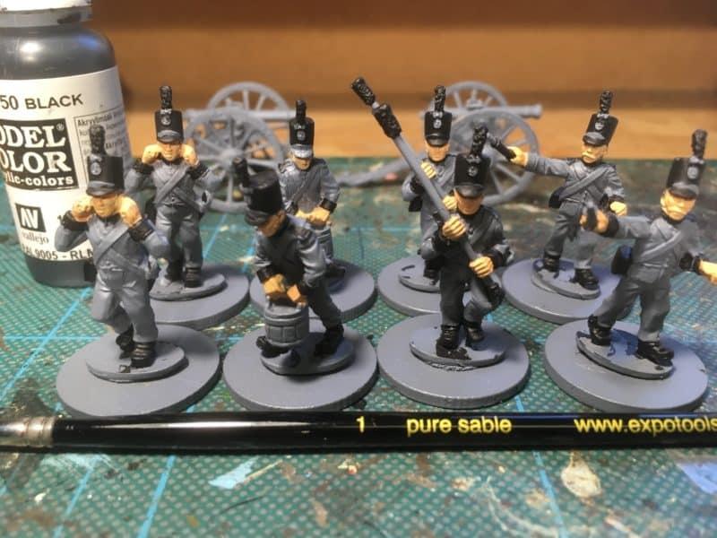 Portuguese Artillery - black
