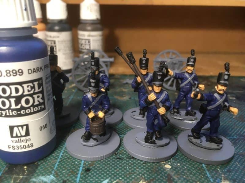 Portuguese Artilery - Uniforms.