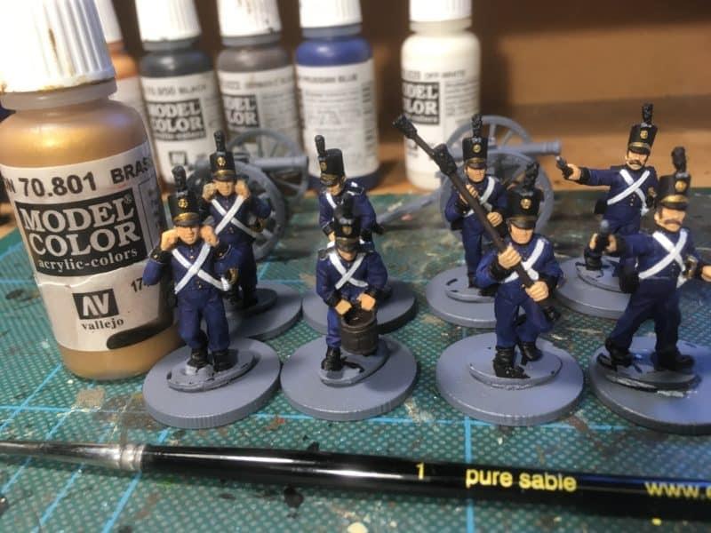 Portuguese Artillery - Brass