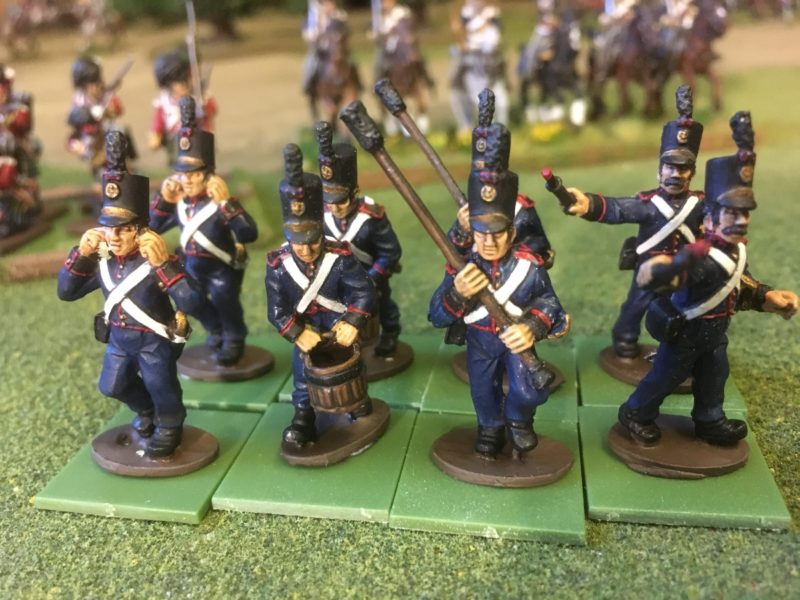 Portuguese Artillery - quick shade and matt varnished.