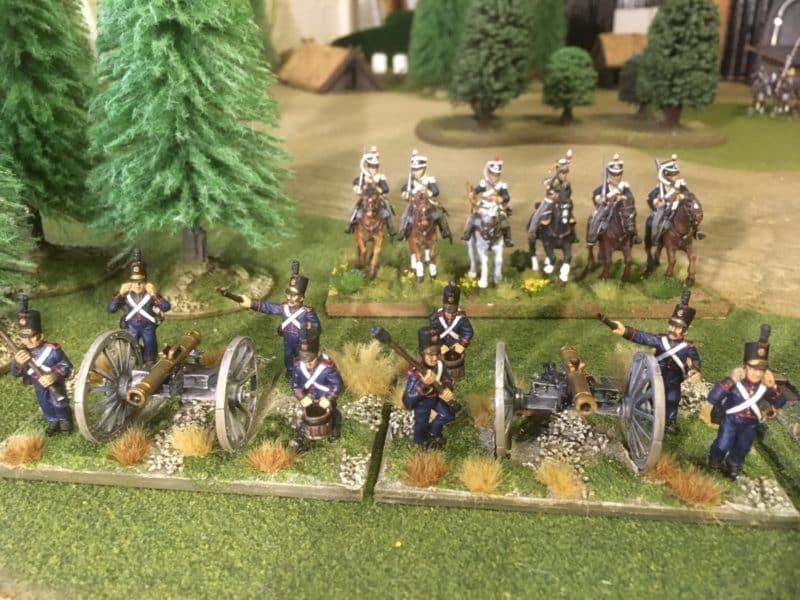 Potuguese Artillery ready for action!