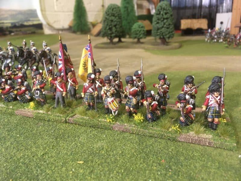 Gordon Highlanders completed