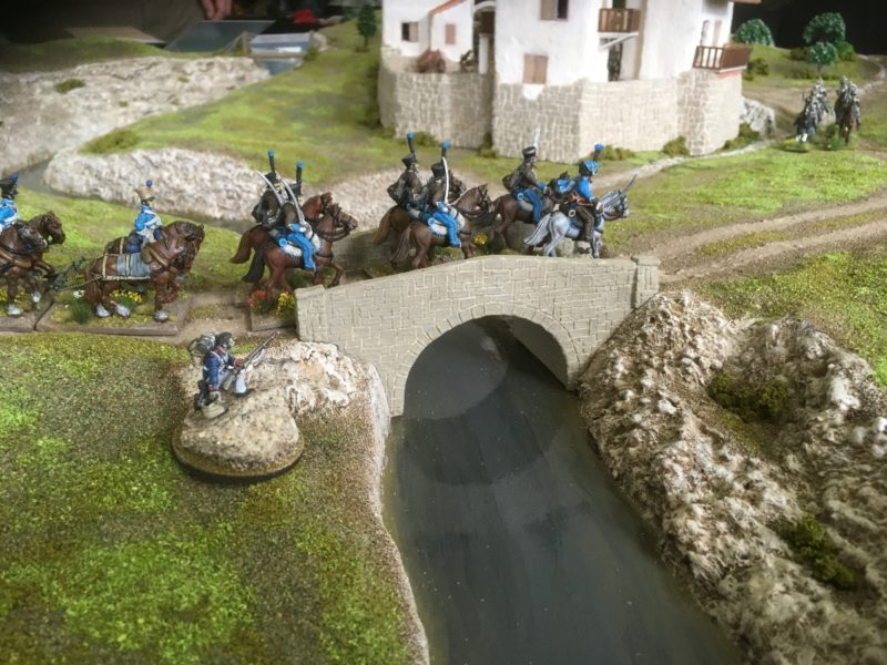 French Hussars - these troops would be late for the battle!