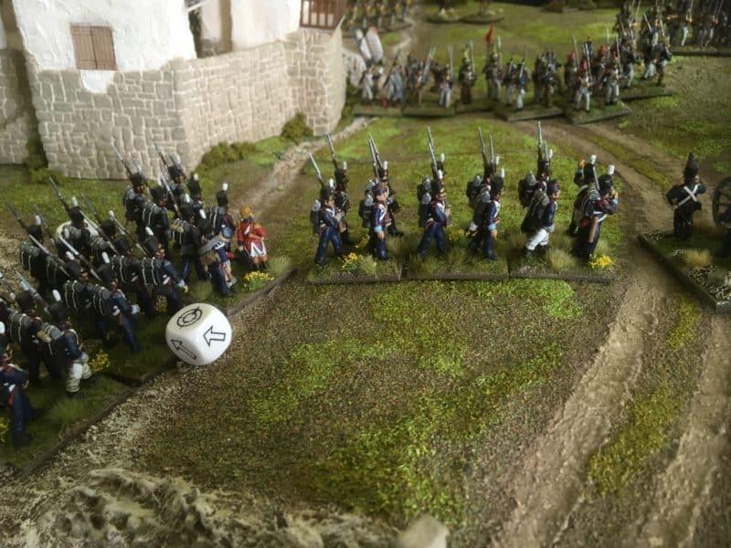 Portuguese caught in Column!