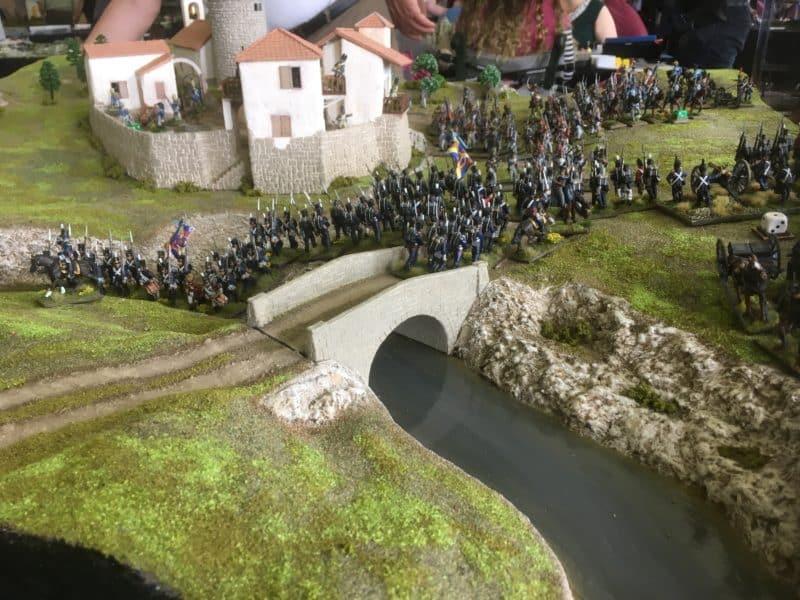 The Portuguese advance!