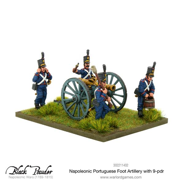 Warlord Games Portuguese 9 pounder.