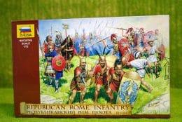 REPUBLIC OF ROME INFANTRY III-IIBC 1/72 Zvezda 8034