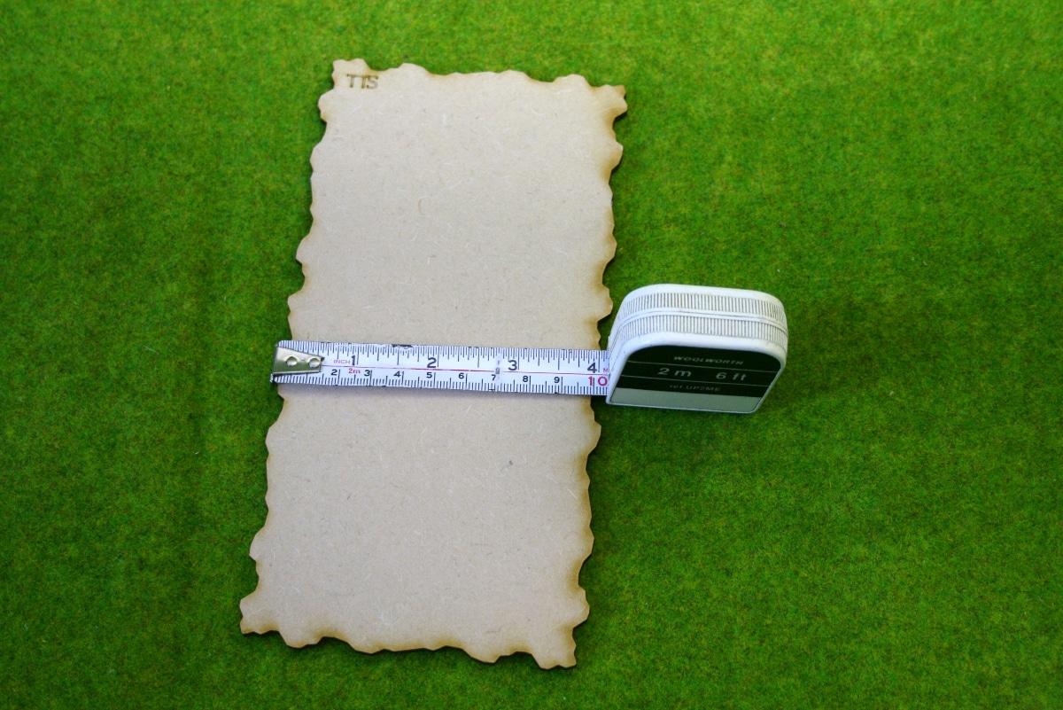 TERRAIN TILE SYSTEM EXPANSION PACK 1 TT02 3mm MDF Sarissa Precision Interlock...