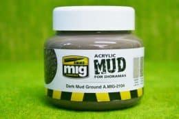 AMMO MIG Dark Mud Acrylic 250ml AMIG2104